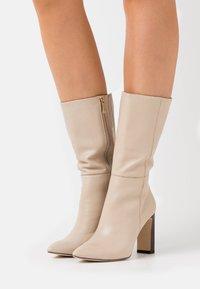 Tamaris - High heeled boots - ivory - 0