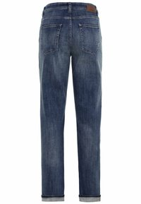 camel active - LOOSE FIT JEANS - Relaxed fit jeans - mid blue used tint - 6