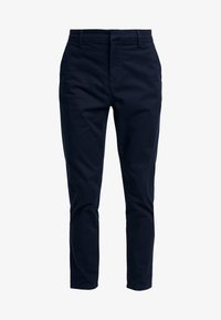 New Look - PLAIN TROUSER - Chino - navy - 4
