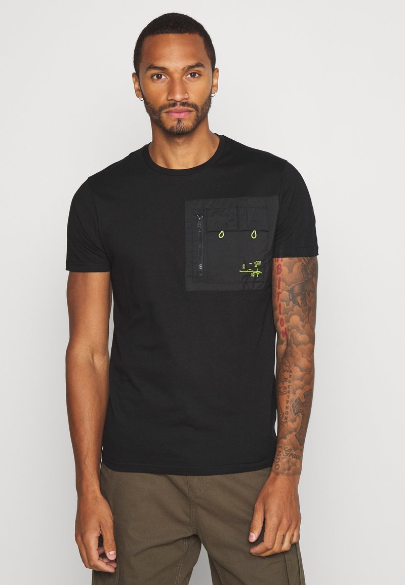 Brave Soul - Basic T-shirt - black