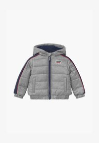 Levi's® - COLOR BLOCK PUFFER - Winterjas - oyster mushroom - 0