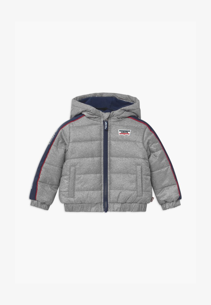 Levi's® - COLOR BLOCK PUFFER - Winterjas - oyster mushroom