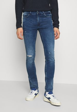 ONSLOOM ZIP - Jeansy Slim Fit - blue denim