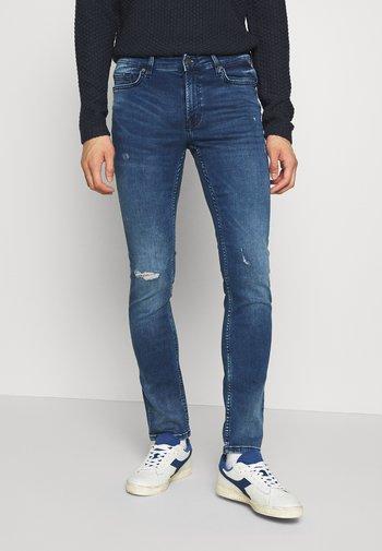 ONSLOOM ZIP - Jeans slim fit - blue denim