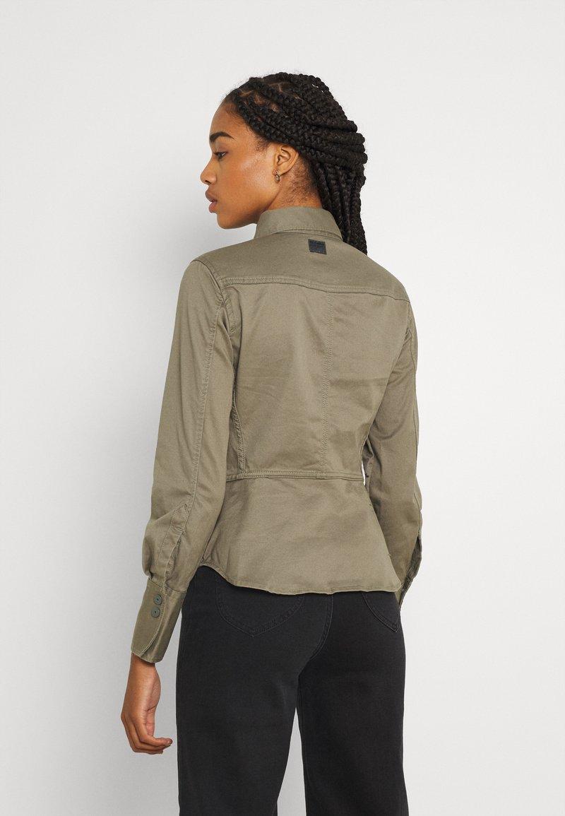 G-Star - KICK BACK - Button-down blouse - cavalry