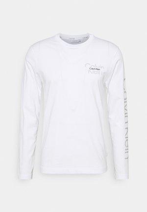 REFLECTIVE UNISEX - Maglietta a manica lunga - bright white