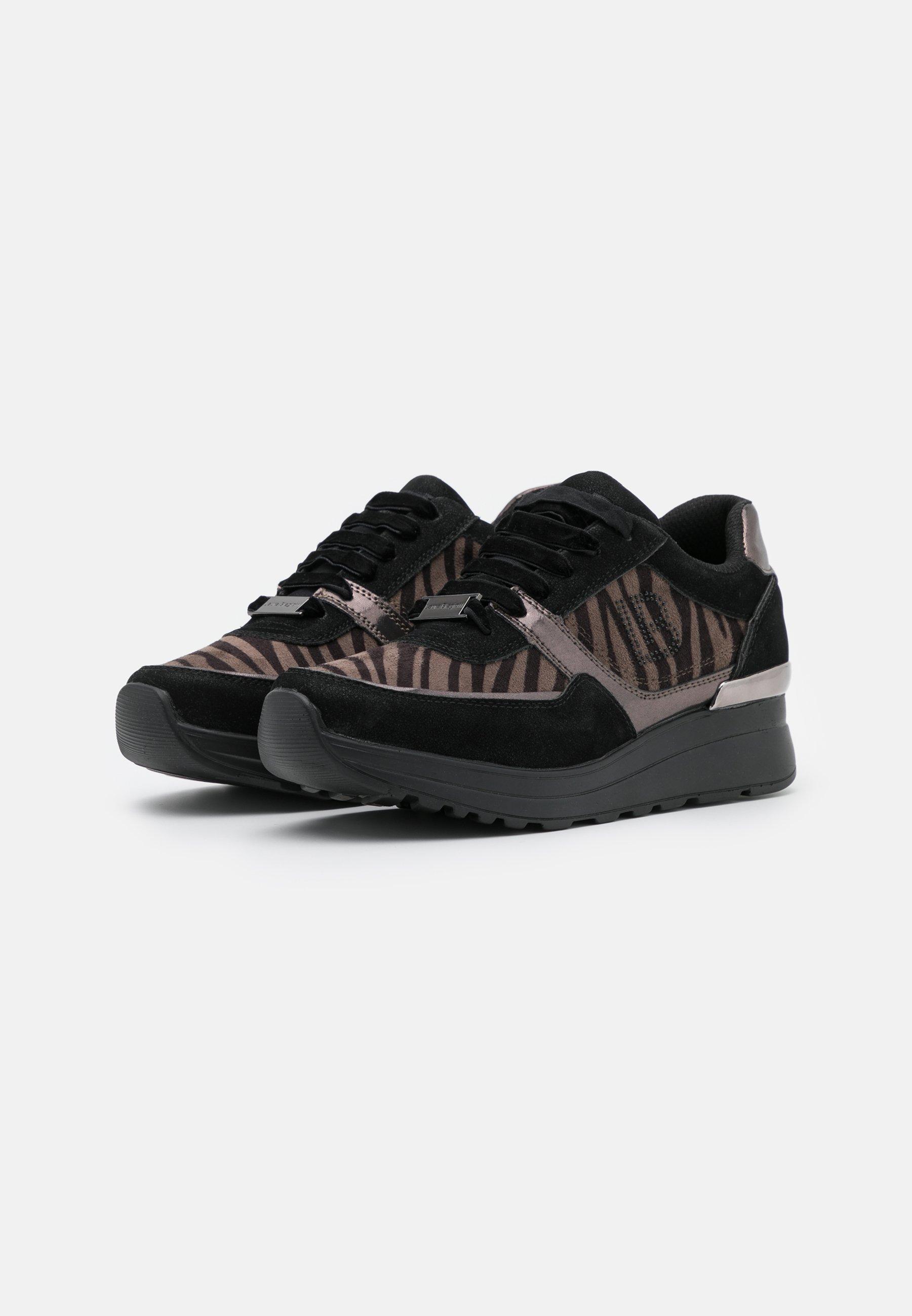 Laura Biagiotti Sneaker low moon black/schwarz