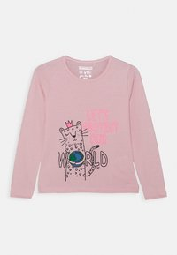 Staccato - GIRLS LONGSLEEVE KID 2 PACK - Top s dlouhým rukávem - white/light pink - 1