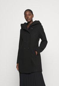 s.Oliver - LANGARM - Classic coat - black - 0