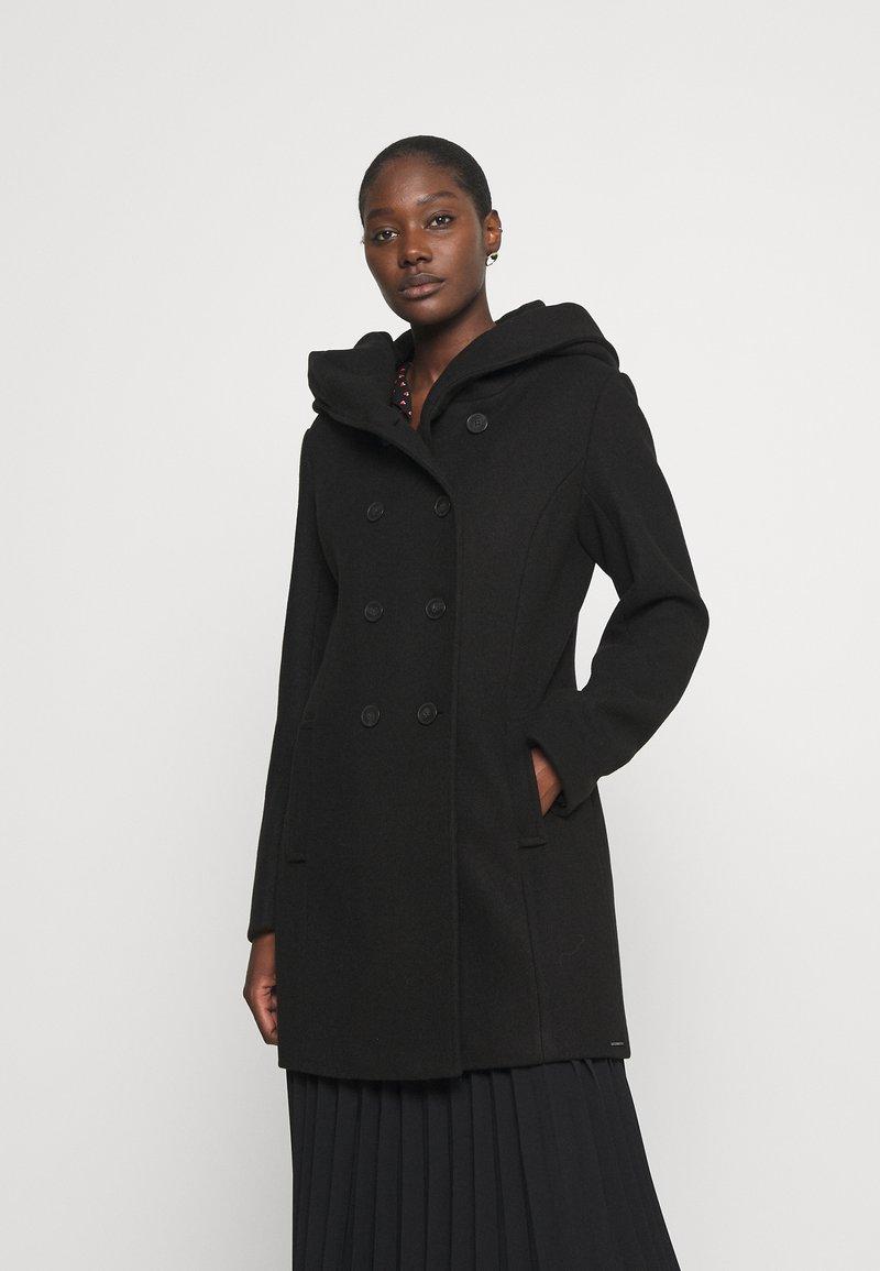 s.Oliver - LANGARM - Classic coat - black