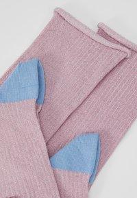 Dear Denier - MALENE GLITTER - Ponožky - rose/blue - 2