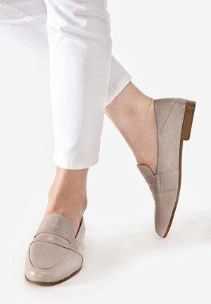Scarpe senza lacci - light brown
