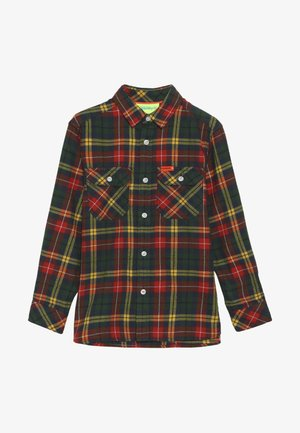 EXPLORER CHECK  - Shirt - yellow/green