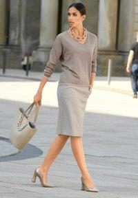 Alba Moda - Pencil skirt - beige,taupe - 3
