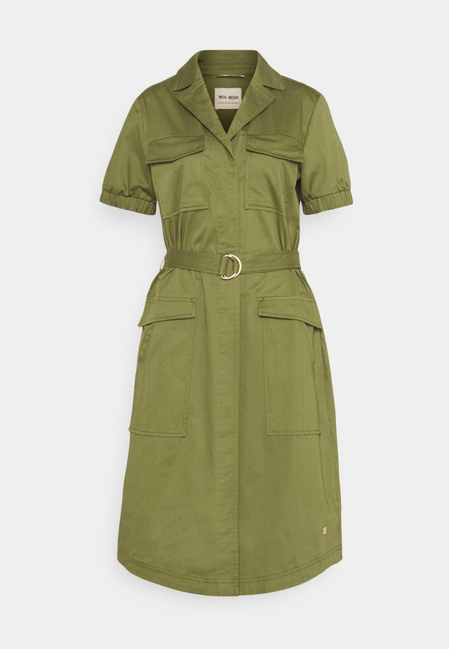 SIERRA COLE DRESS - Shirt dress - winter moss
