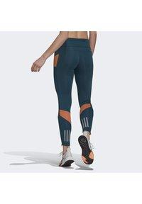 adidas Performance - Leggings - turquoise - 2