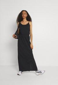 Vila - VIDREAMERS SINGLET - Maxi dress - black - 1
