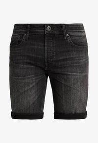 Jack & Jones - JJIRICK JJORIGINAL - Denim shorts - black - 4