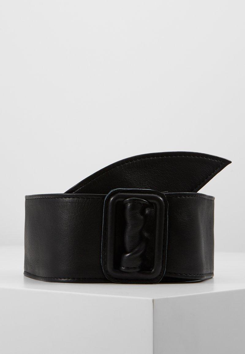 Vanzetti - Ceinture taille haute - black