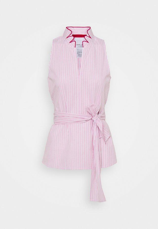 BENZOINO - Bluse - shocking pink