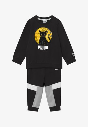 ANIMALS JOGGER SET - Tuta - black