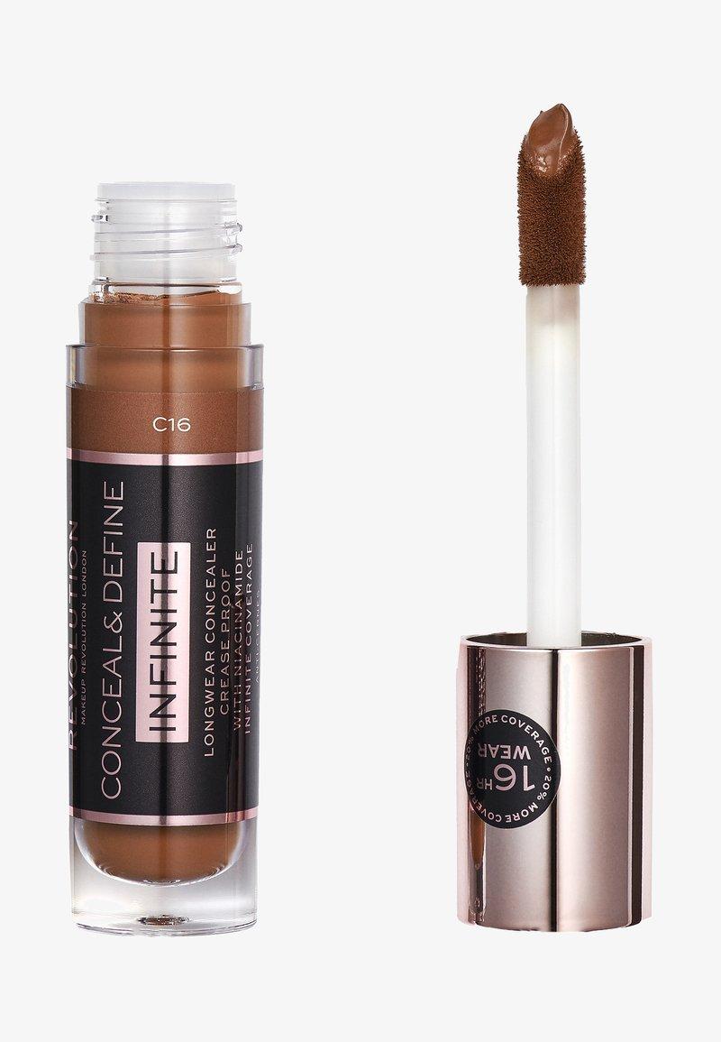 Make up Revolution - INFINITE XL CONCEALER - Concealer - c16