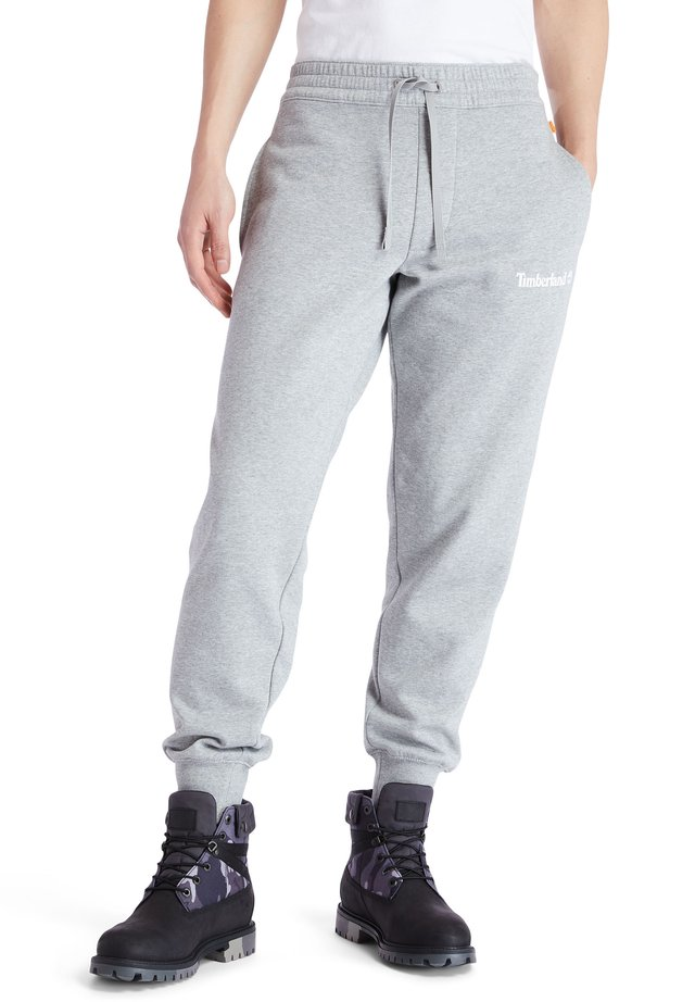 ESTABLISHED 1973 - Tracksuit bottoms - medium grey heather-white