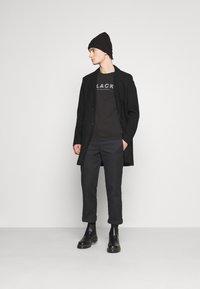 Only & Sons - ONSJULIAN STAR COAT - Classic coat - black - 1