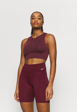 Light support sports bra - bordeaux