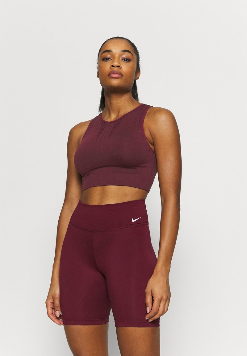 Even&Odd active - Light support sports bra - bordeaux