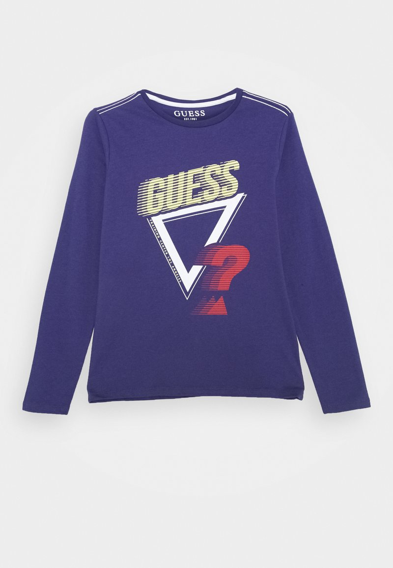 Guess - JUNIOR - Long sleeved top - bluish