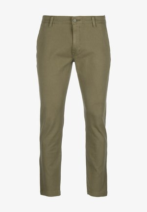 XX CHINO STD II - Trousers - bunker olive shady