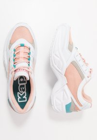 Kappa - KRYPTON - Sports shoes - white/darkrosé - 1