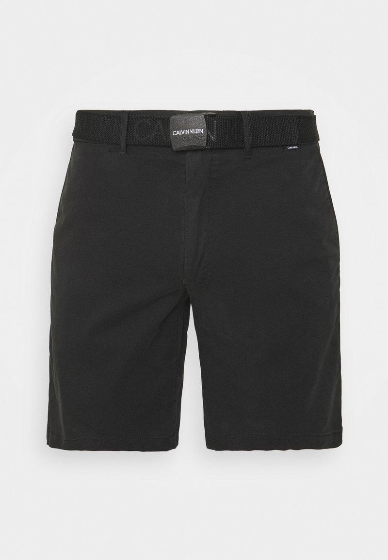 Calvin Klein - GARMENT - Shorts - black