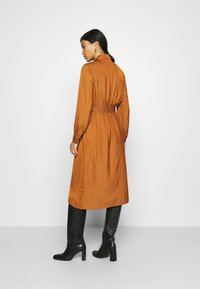 Banana Republic - MIDI TRENCH DRESS - Shirt dress - sand shell - 2