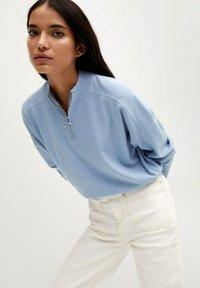Mango - Sweatshirt - bleu porcelaine - 4