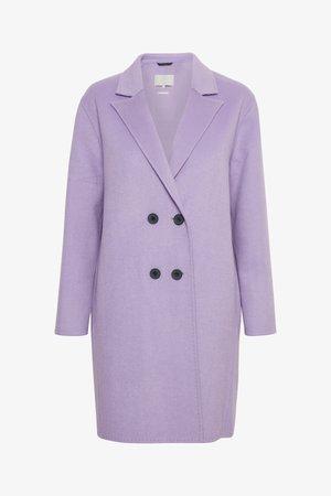 USHAN - Classic coat - purple rose