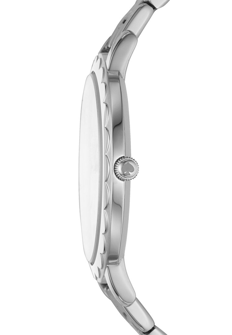 kate spade new york MORNINGSIDE - Klokke - silver-coloured/sølv Dj11EPfkhBjsKdn