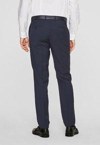 s.Oliver BLACK LABEL - CESANO - Suit trousers - blue - 2
