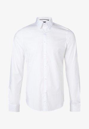 SLIM FIT STRETCH - Shirt - white