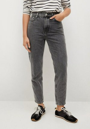 MOM-FIT - Jeans Tapered Fit - open grey