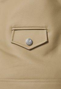 Deadwood - RIVER CACTUS  - Faux leather jacket - beige - 2