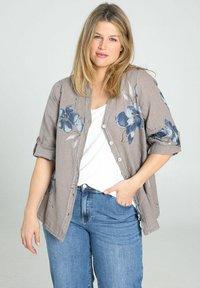 Paprika - Button-down blouse - taupe - 0