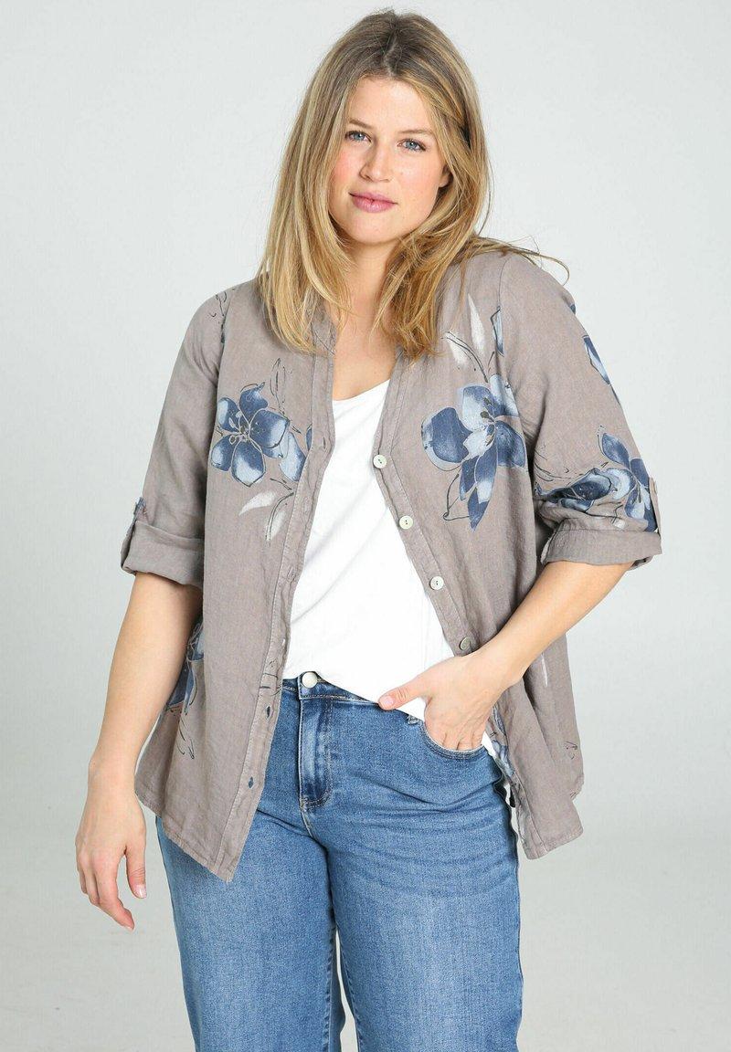 Paprika - Button-down blouse - taupe