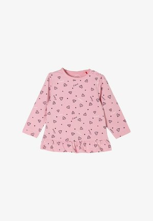 MIT MUSTERMIX - Long sleeved top - rose