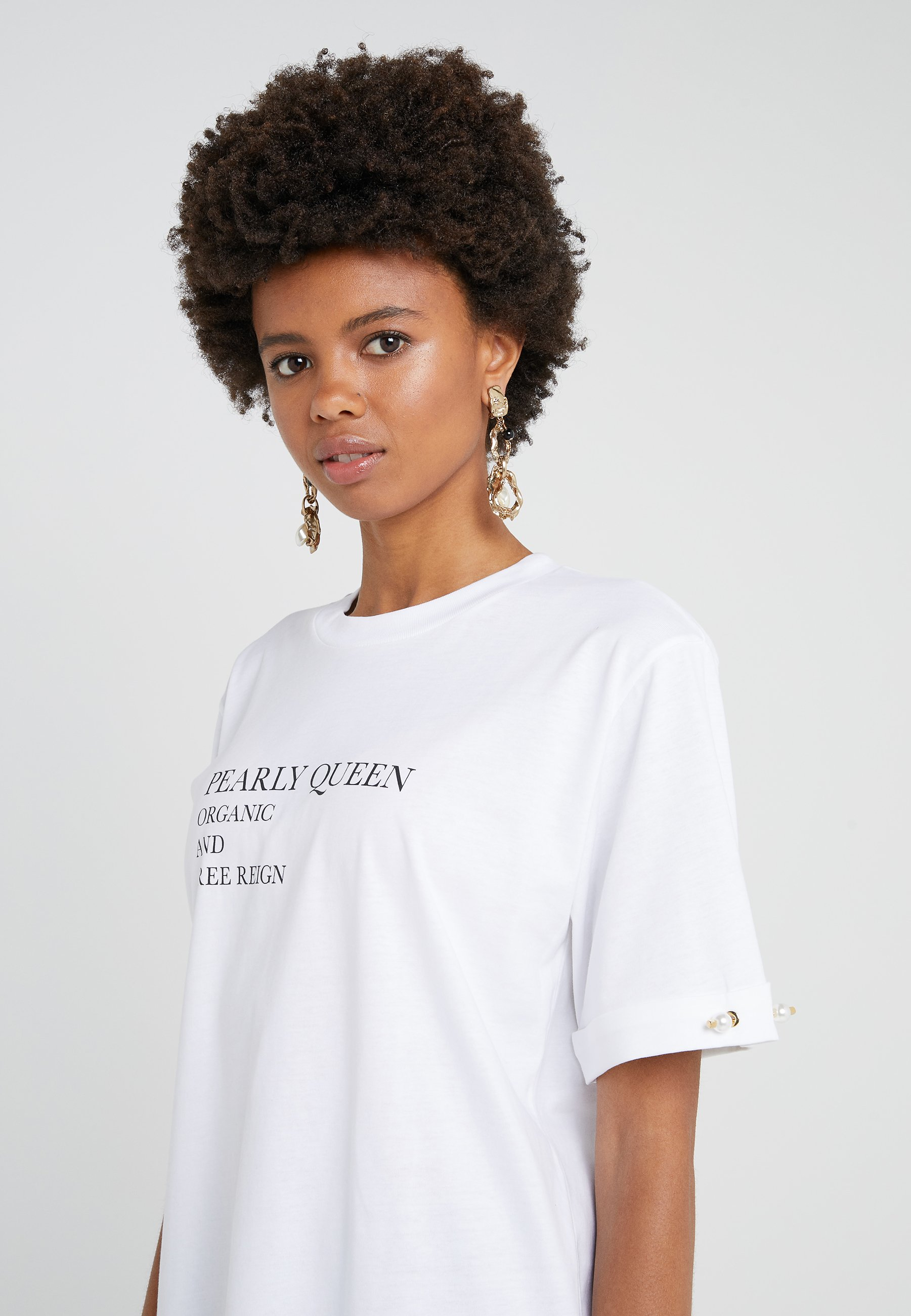 Mother Of Pearl Charlie - T-shirts Med Print White/hvit