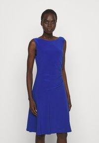 Lauren Ralph Lauren - MID WEIGHT DRESS - Trikoomekko - sporting royal - 0