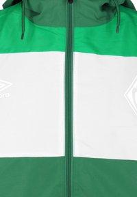 Umbro - SV WERDER BREMEN  - Training jacket - verdant green / white / golf green - 2