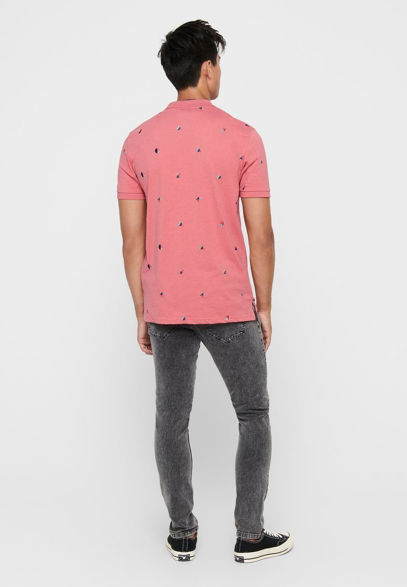 Only & Sons Polo shirt - mauveglow EJEUF