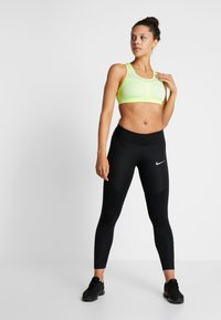 Nike Performance - EPIC LUX - Legginsy - black/reflective silver - 1